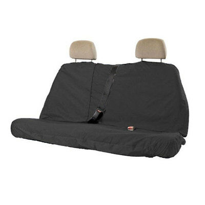 Heavy Duty Rear Car Seat Protector Cover Black Water Resistant Nylon VW Back