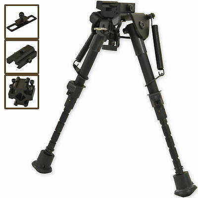 Nitehawk Air Rifle Precision Hunting Shooting Bipod Adjustable Swivel Gun Rest