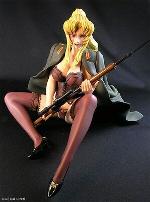 "9"" A-Label Black Lagoon Balalaika Army Removable Clothing PVC Figure Loose"