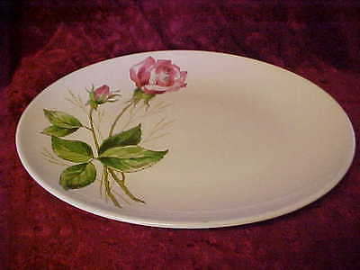 Knowles, Edwin Tea Rose Oval  Serving Platter