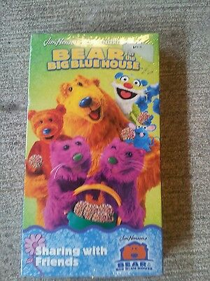 Bear In The Big Blue House VHS - JoJo's Circus ...