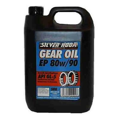Silverhook EP 80w/90 Gear Oil GL-5 Hypoid Differential/Transmission Oil 4.54L