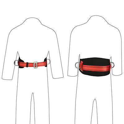 T1080 Silverline Work Positioning Belt 2-Point Safety & Workwear Fall Protection