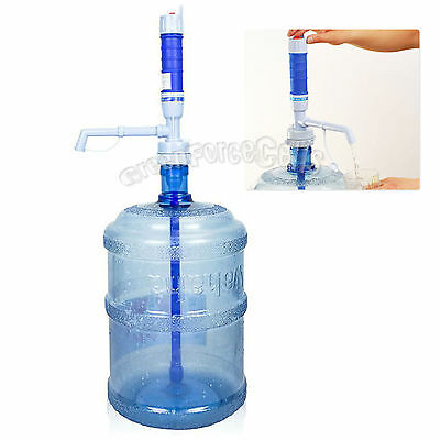 Electric Portable 5 Gallon Water Pump Dispenser w/ Switch Water Bottle Drinking