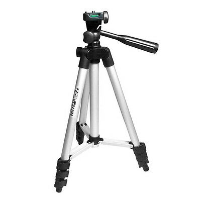 Universal 4 Section Extendable Camera Mount Stand Holder Tripod For Cell Phone