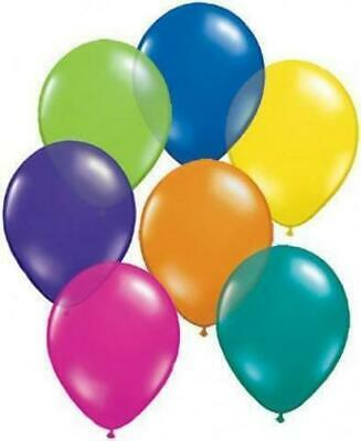 "Qualatex 5"" Latex Balloons (Jewel Colours) x 50 - U Choose the Colour"