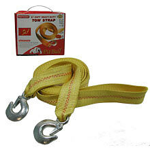 """2"""" X 20FT H/D TOW STRAP Mud Towing Hitch Auto Truck Emergency Straps Automotive"""