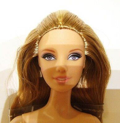 Nude Barbie Long Blonde Haired Model Muse Nude Doll mn100