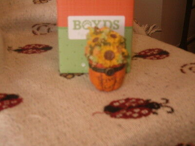 Boyds Bears Treasure Box Rowan's Autumn Blessings 1st Edition