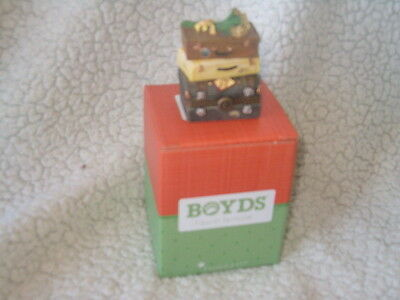 Boyds Bears Treasure Box Rose's Travels 1st Edition