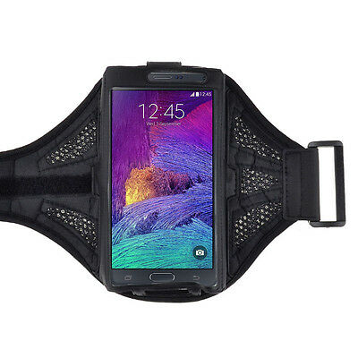 Black Workout Outdoors Sport GYM Armband Case for Samsung Galaxy S8 / LG G6