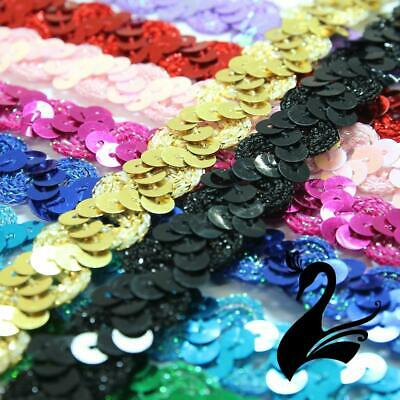Sequin Trim - Zig Zag & Ric Rac Cord w Tinsel Braid 1.5cm Style 5172 (Price per