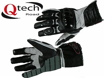 Motorcycle MOTORBIKE Gloves Leather & Textile ARMOURED Touring Urban Armour