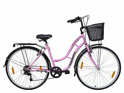 """TIGER 'TOWN AND COUNTRY 6 SPEED' LADIES HYBRID BIKE - 18"""" FRAME - 700c"""