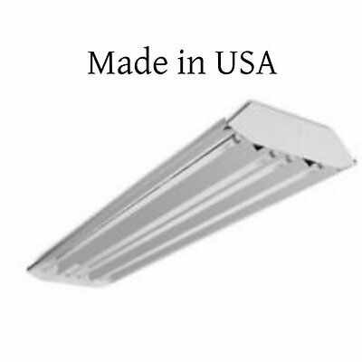 6 Lamp T5 Curved Profile High Output Fluorescent High Bay - Warehouse Shop