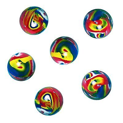 6 High Quality Party Favour Stocking Filler Bounce Bouncy Balls Boys Girls Toy