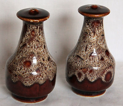 Vintage Salt and Pepper Pots - Fosters Pottery, Cornwall