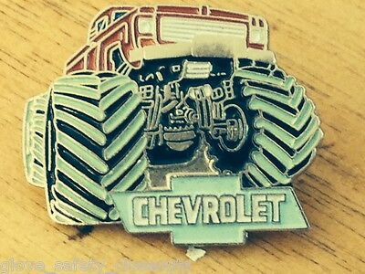 Brand new Chevrolet monster truck collectors lapel and hat pin