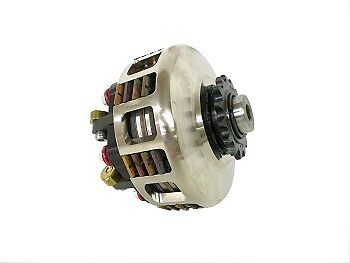 "Racing Go Kart Turbo Bully Outboard Clutch 1"" 4 Disc 6 Spring 14 15 16 17 18 19"