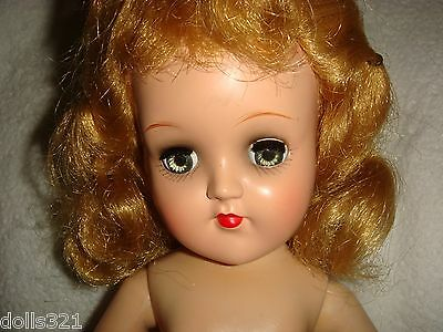"Gorgeous Vintage Rare & HTF Ideal ""Miss Curity Doll"" nude NURSE DOLL"