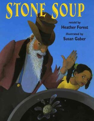 Stone Soup by Heather Forest Paperback Book (English)