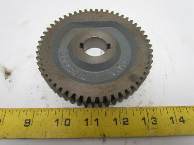 "Boston GD54 B Spur Gear 12 Pitch 14.5 Deg Pr Angle 54-Teeth 1"" Keyed Bore"