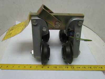 """Rose 506266 BeamGlide Trolley Fall Protection 560Lb Max 4"""" Beam Sz W06"""