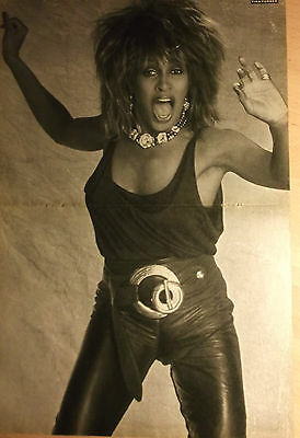 1 german poster TINA TURNER NOT SHIRTLESS SINGER ROCK POP BOY BAND BOYS 80`s