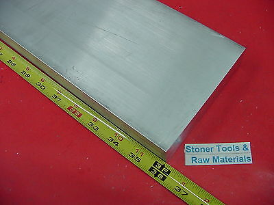 "1/2"" X 4"" ALUMINUM 6061 FLAT BAR 36"" long T6511 SOLID .50"" PLATE NEW Mill Stock"