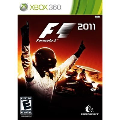 NEW SEALED F1: Formula 1 2011 XBOX 360 Video Game one 11 racing multiplayer fun