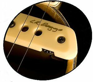 LR Baggs M1 Active Magnetic Dual Coil Guitar Soundhole Pickup w/Volume and Jack