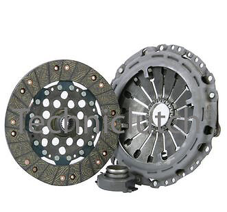 3 Piece Clutch Kit Inc Bearing 230Mm For Citroen C5 2.0 Hdi