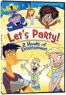 kaBOOM! Kids: Let's Party! (DVD)  NEW