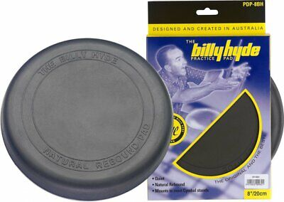 "Billy Hyde 8"" Drum Stick Practice Pad DP-8BH"