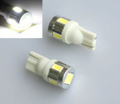 2x LED T10 6 x 5630 smd Lampe 12V weiß hell Innenraum Beleuchtung Leselampe