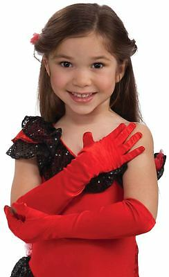 Opera Length Child-Size Gloves - Multiple Colors!