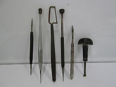 Vintage & Antique Lot of Dental/Medical Tools- Mini Saw, Scalpel, & Other Tools