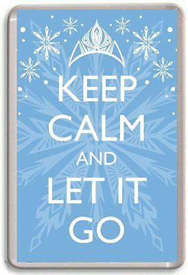 Keep Calm and let it go Coaster Frozen