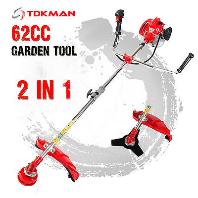 TDKMAN Pole Brush Cutter Whipper Snipper Pruner Line Tree