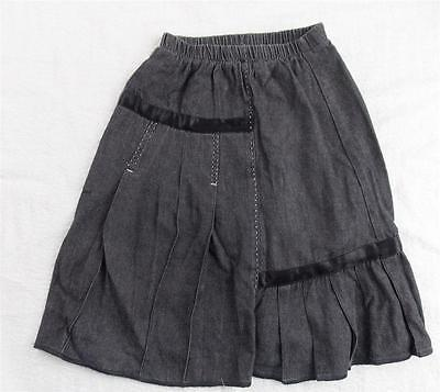 5y MARESE girls grey french designer skirt (ideal casual. formal or school)