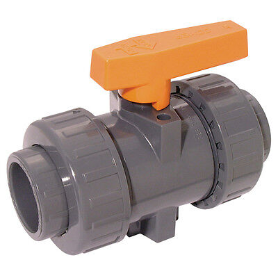 "Upvc And Abs Tubes & Valves - 3"" Id Abs Ball Valve Double Union 8-00054"