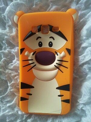 UK-SILICONE CASE TIGER for SAMSUNG GALAXY GRAND 2 G7106