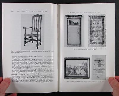 ANTIQUE CONNECTICUT FURNITURE and CABINETMAKERS WORKING BEFORE 1840 -2 Volumes