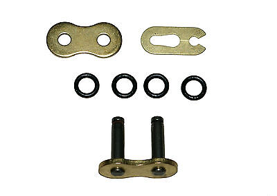 Rear chain split (connecting) link 525 TVH heavy duty 'X' ring gold