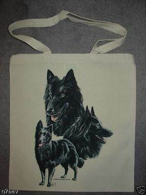 Belgian Shepherd Dogs ( Groendael ) On A Tote Bag