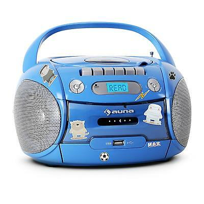 mobile kinder hifi anlage cd usb radio kassetten mp3. Black Bedroom Furniture Sets. Home Design Ideas