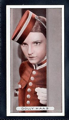 ARDATH FAMOUS FILM FILM STARS 1934 DOLLY HAAS No.7