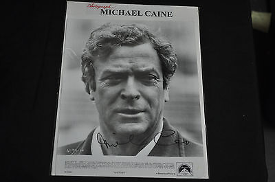 Michael Caine Authentic Autographed Signed Movie  Media Photo Alfred