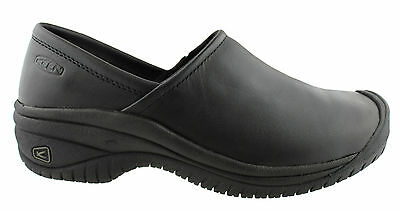 Keen Ptc Slip On Ii Leather Womens/ladies Casual/walking/work/comfort Shoes
