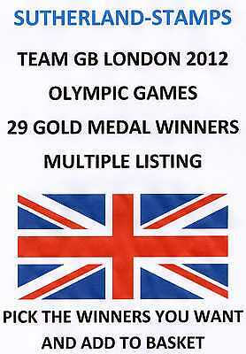Mint - Team Gb At London 2012 Olympic Games  - Multiple Listing - Pick Winners